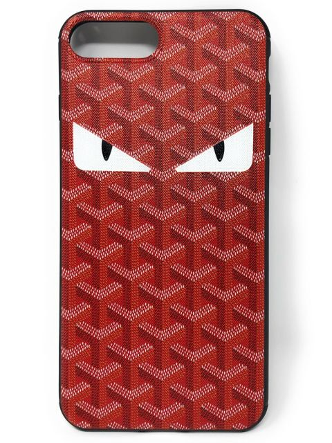 Patterened Ninja Eye Hard Back Case for iPhone