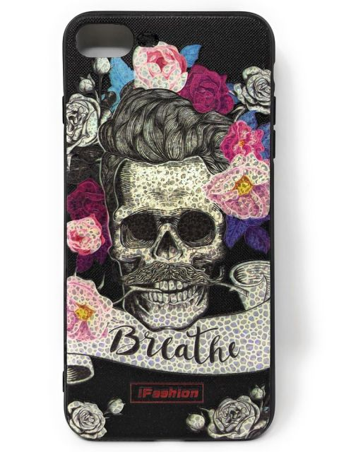 SKULL Engraved Hard Back Case for iPhone