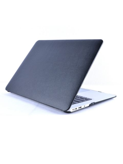 Emobik PU Leather Front Black Case for New Apple Macbook Pro with/without Touchbar