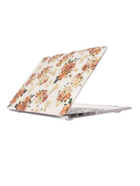 Emobik Matte Floral Printed Case for New Apple Macbook Pro with/without Touchbar