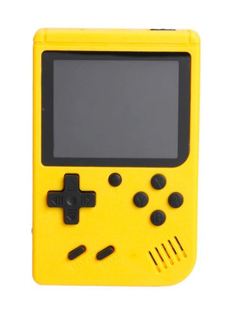 Emobik GameBox 400 in 1 Game Console(Yellow)