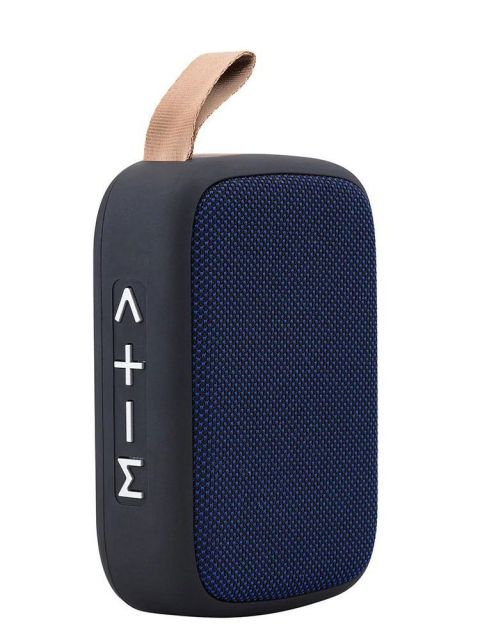 Emobik SoundPure Mini Bluetooth Speaker(Blue)