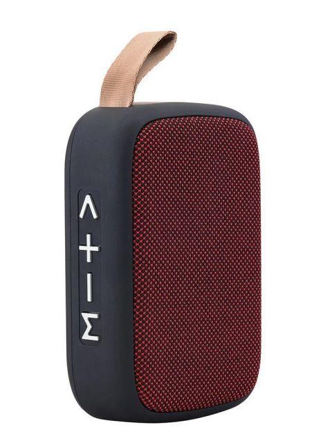 Emobik SoundPure Mini Bluetooth Speaker(Red)