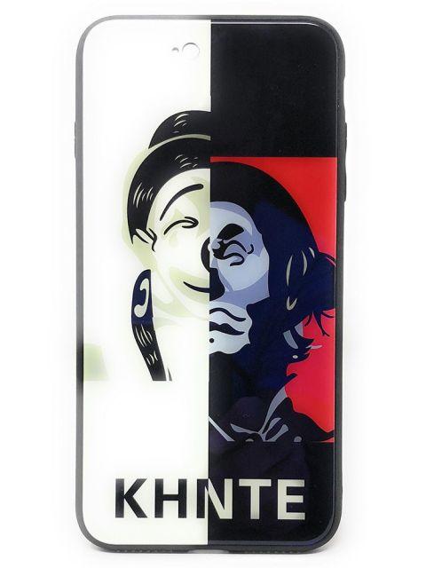 Emobik KHNTE Dual Printed iPhone Hard Glass Case