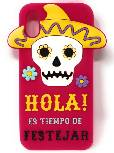 Emobik HOLA designer Soft Gel iPhone Case