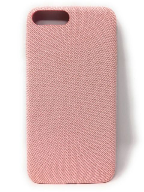 Emobik Textured Pink Soft iPhone Case