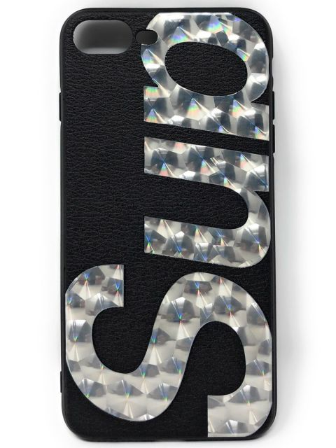 Glittery Supreme Hard Back case for iPhone