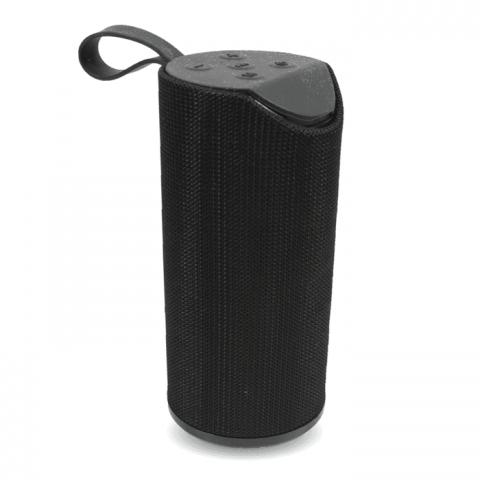Emobik SoundPure Portable Wireless Bluetooth Speaker with Mic, Super Bass Sound(Black)