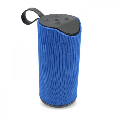 Emobik SoundPure Portable Wireless Bluetooth Speaker with Mic, Super Bass Sound(Blue)