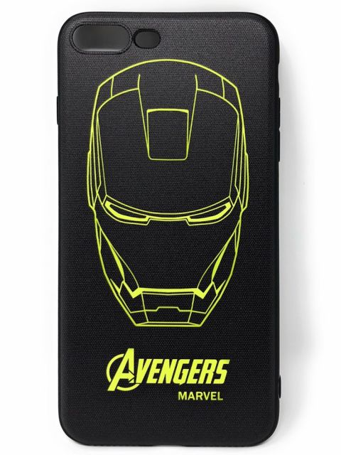 Avengers & Iron Man Hard Glass Back Case for iPhone