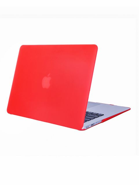 Emobik Matte Hard Red Case for New Apple Macbook Pro with/without Touchbar