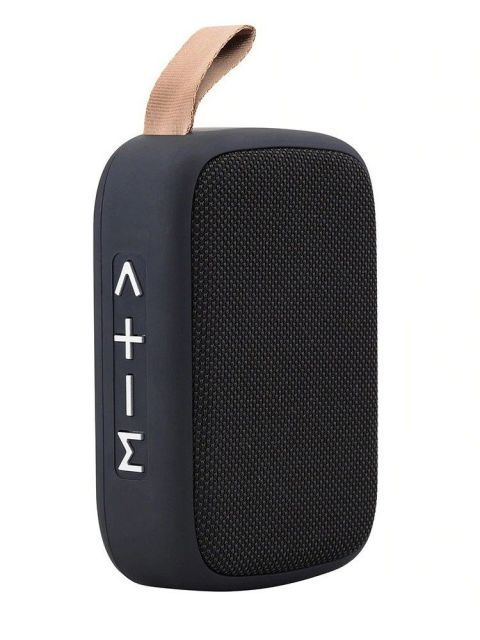 Emobik SoundPure Mini Bluetooth Speaker(Black)