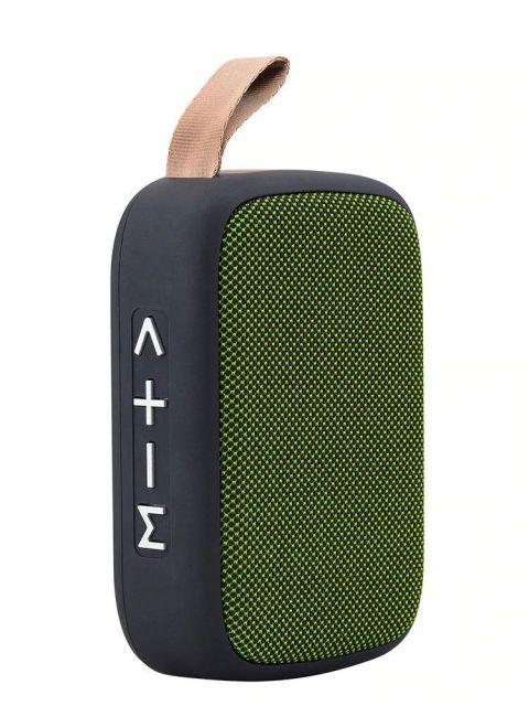 Emobik SoundPure Mini Bluetooth Speaker(Green)