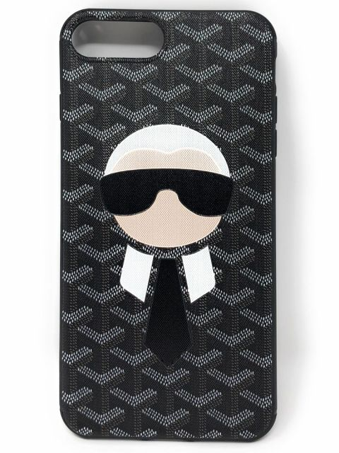 Patterened Ninja Black Hard Back Case for iPhone